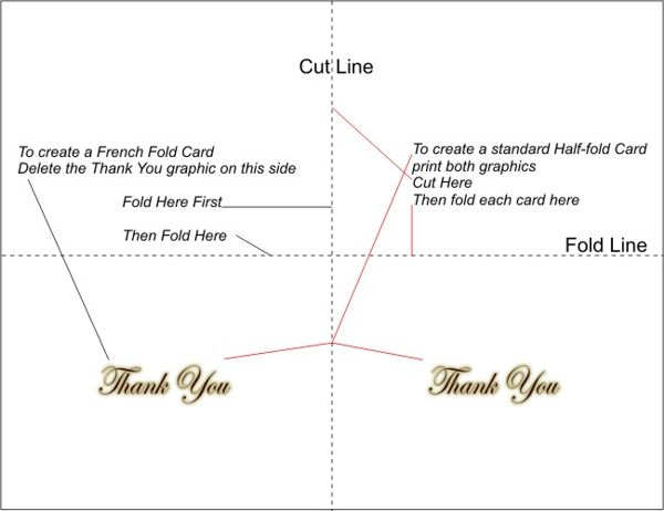 graphic relating to Free Printable Thank You Card Template named Totally free Printable Thank Your self Playing cards 4