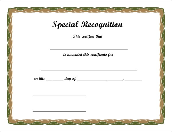 free printable certificate 2